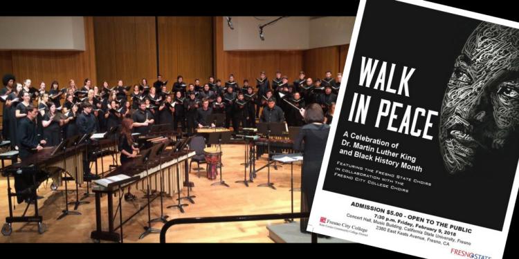 """""""Walk in Peace"""" choir concert"""