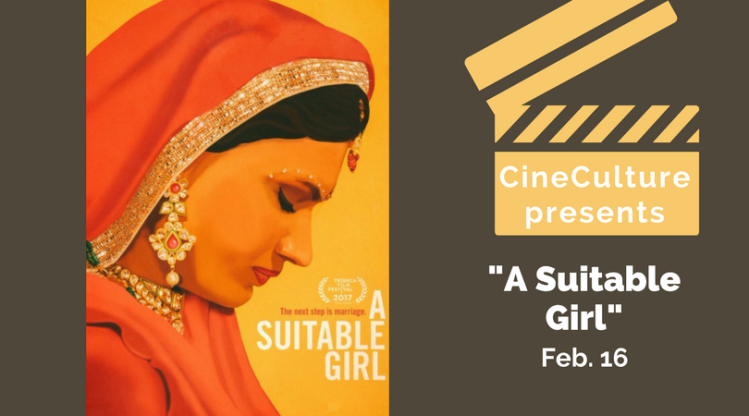 "CineCulture presents ""A Suitable Girl"""