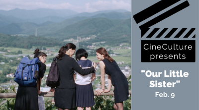 "CineCulture present ""Our Little Sister"" Feb. 9"