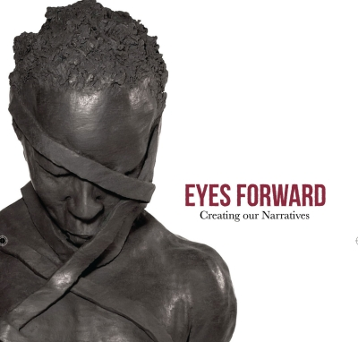 "Flyer for ""Eyes Forward"" exhibition"