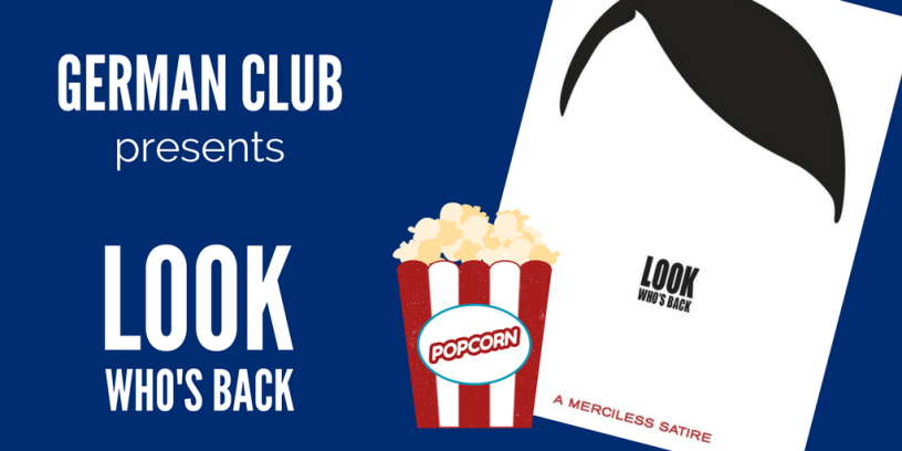 "German Club presents the film ""Look Who's Back"""