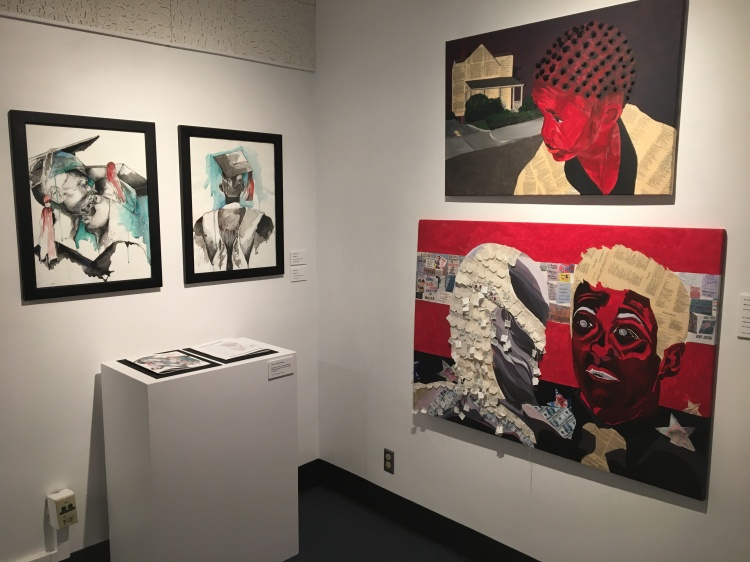 Artwork on display in Fresno State's Dean's Gallery