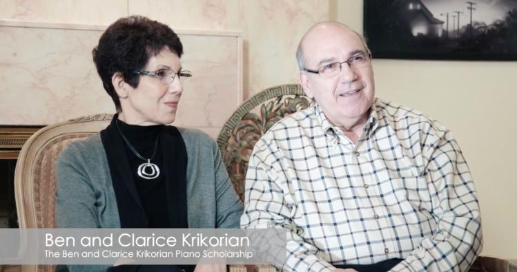 Clarice and Ben Krikorian