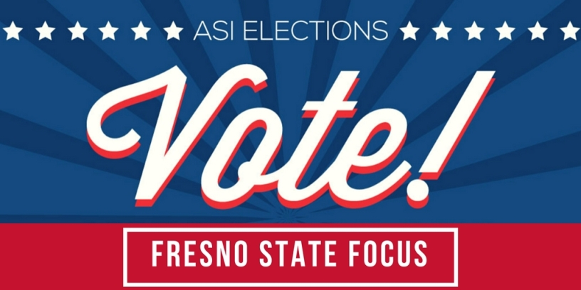 ASI Elections Vote! Fresno State Focus