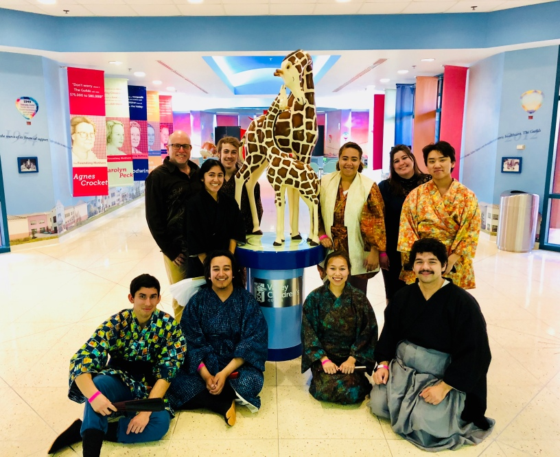 Theatre For Young Audiences performed at Valley Children's Hospital.