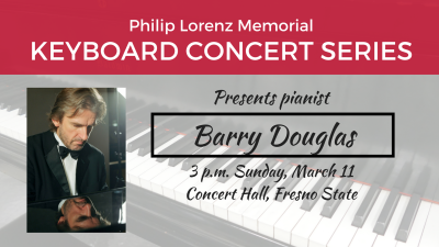 Keyboard Concert presents pianist Barry Douglas