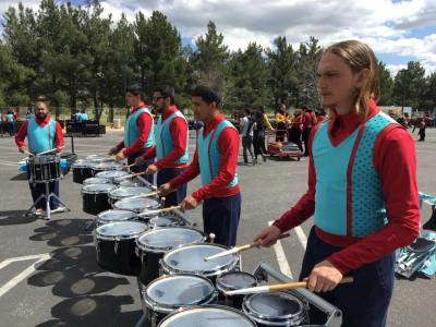 Red Wave indoor percussion ensemble