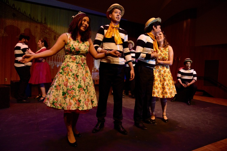 "Fresno State Opera Theatre will present the comic opera ""The Gondoliers"" this weekend."