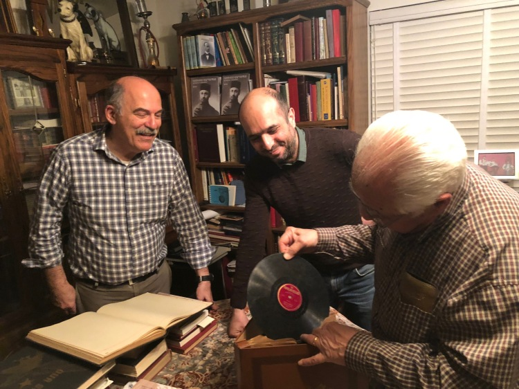 From left, Barlow Der Mugrdechian, Yektan Türkyilmaz and Richard Hagopian.