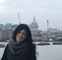 Janette Porraz in London