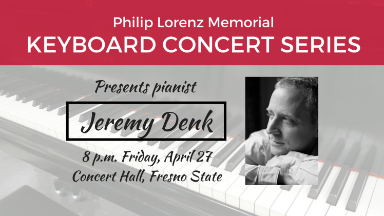 Keyboard Concert Series presents Jeremy Denk