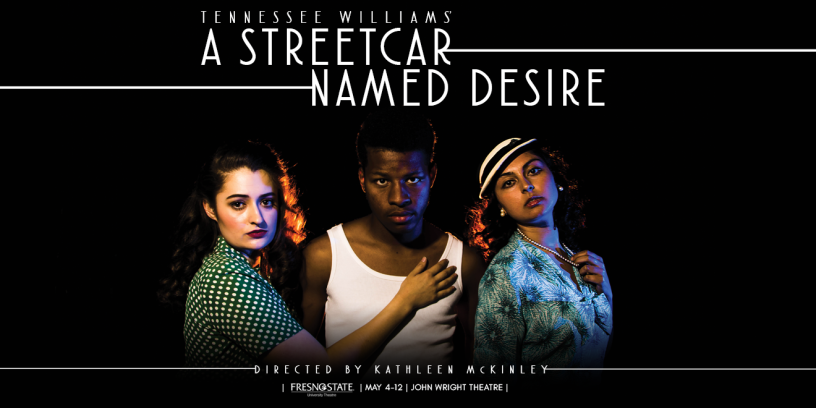 "Flyer for ""A Streetcar Named Desire"""