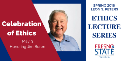Celebration of Ethics to honor Jim Boren