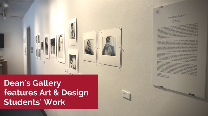 Dean's Gallery features Art & Design Students' Work
