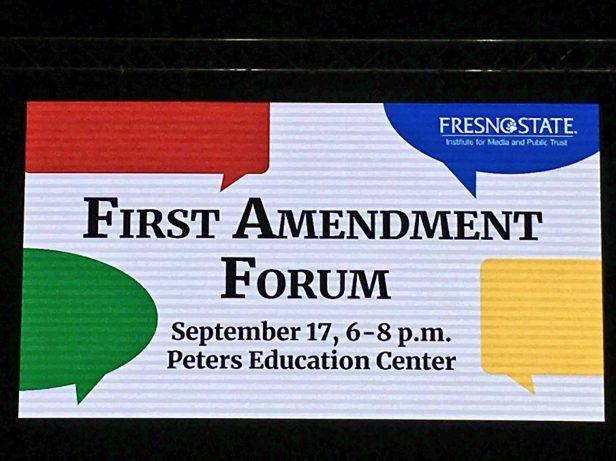 First Amendment slide