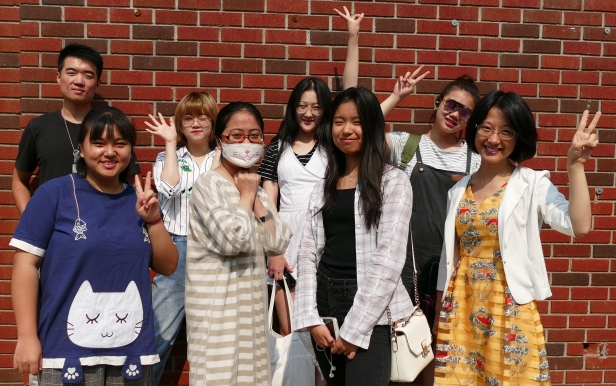 Beijing Union University students visit Fresno State