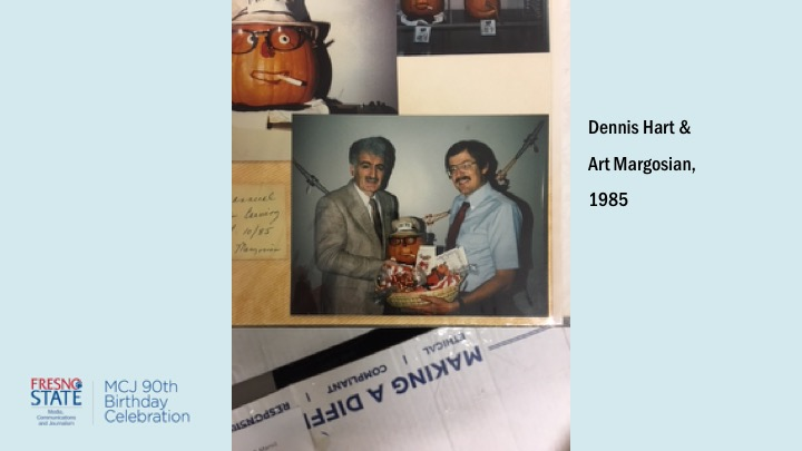 Dennis Hart and Art Margosian, 1985
