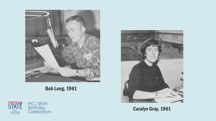 Bob Long and Caralyn Gray, 1961