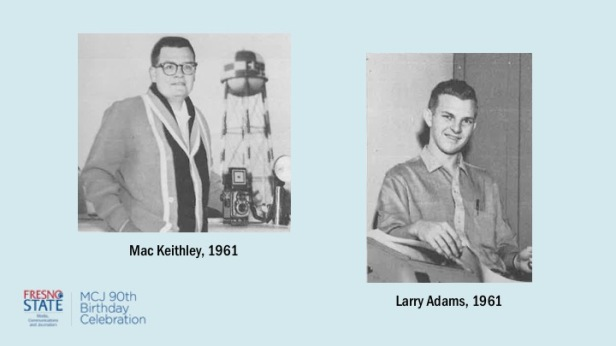 Mac Keithely and Larry Adams, 1961