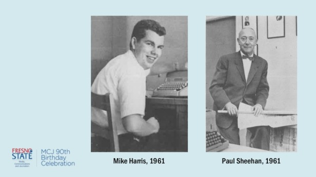 Mike Harris and Paul Sheehan, 1961