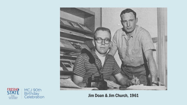 Jim Doan and Jim Church, 1961
