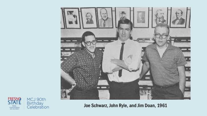 Joe Schwarz, John Ryle, and Jim Doan, 1961