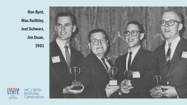 Ron Byrd, Mac Keithley, Joel Schwarz, Jim Doan, 1961