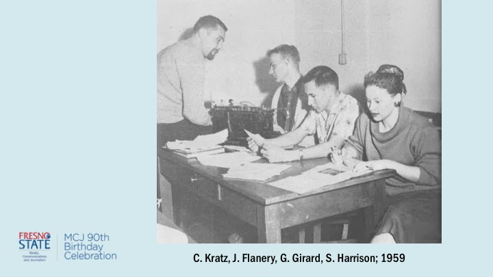 C. Kratz, J. Flanery, G. Girard, S. Harrison; 1959