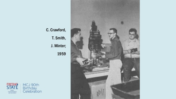 C. Crawford, T. Smith, J. Minter; 1959
