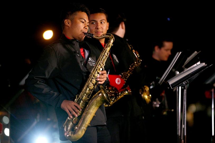 Fresno State Marching Band (Photo by Cary Edmondson)