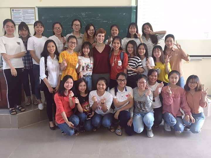 Evans Vietnam students