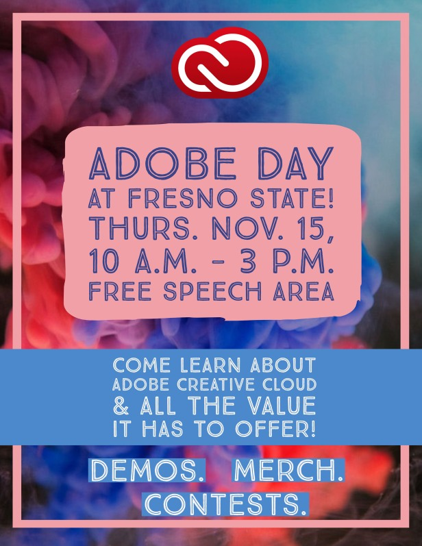 Adobe Day flier