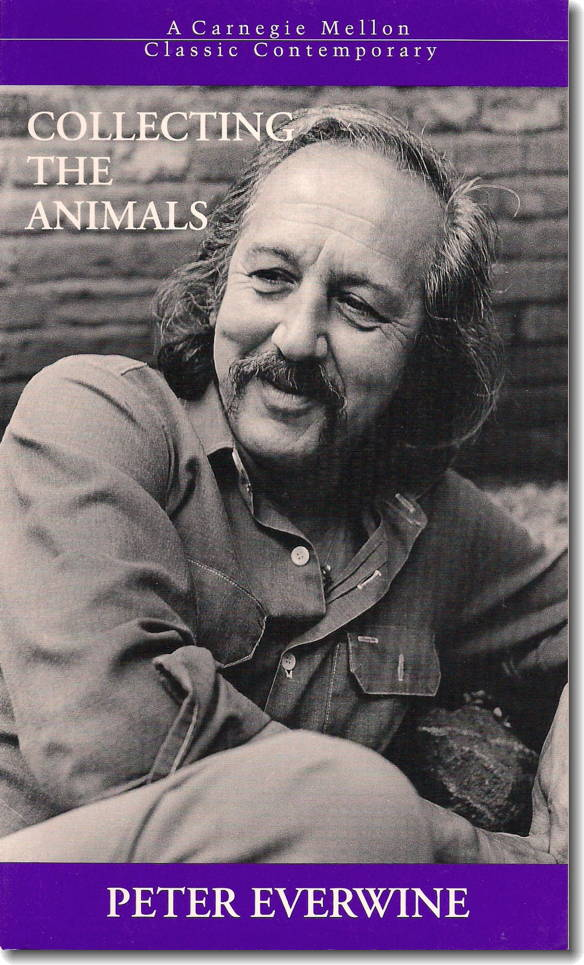 Collecting the Animals by Peter Everwine - book cover