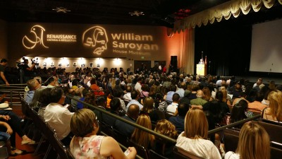 William Saroyan House Museum opening ceremony