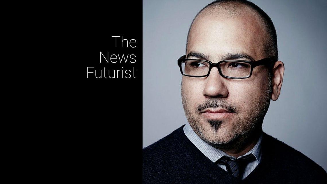 Victor Hernandez, the News Futurist