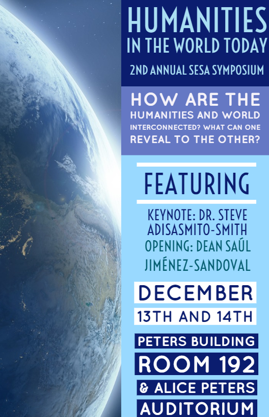 SESA Symposium flyer