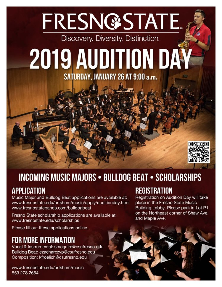 2019 Auditions Day