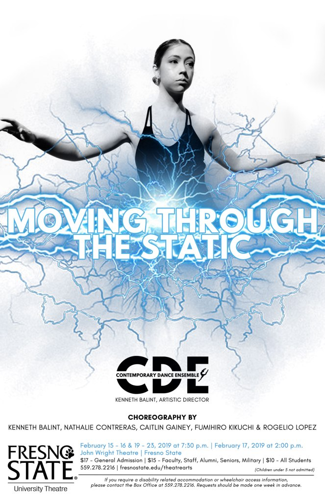Moving through the static - flier