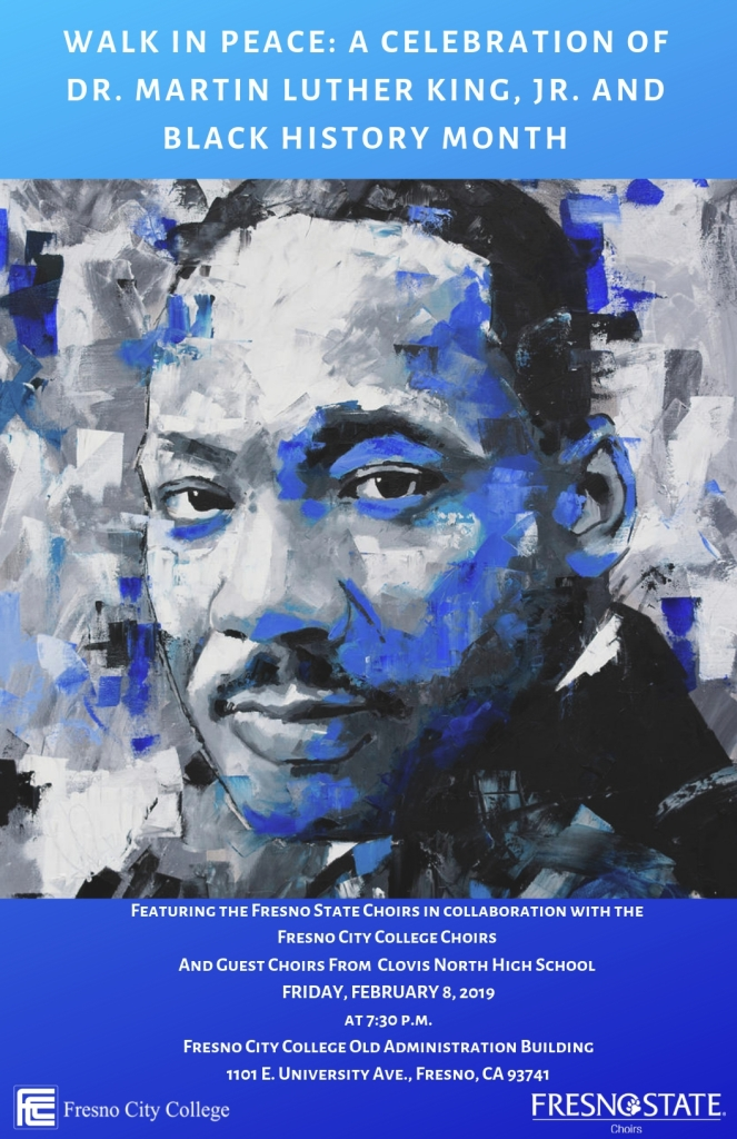 Walk in Peace: A celebration of Dr. Martin Luther King, Jr. and Black History Month