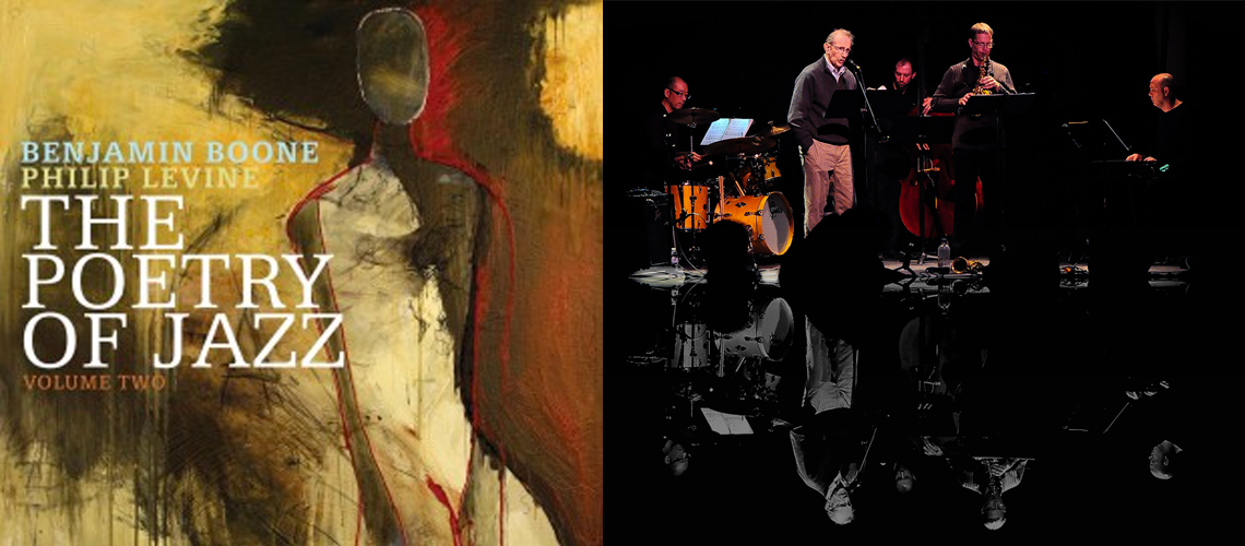 The Poetry of Jazz - Volume Two - Philip Levine, Benjamin Boone and the band in the studio