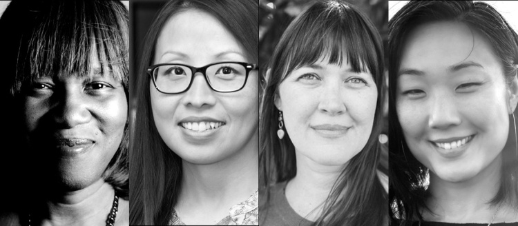 Spring Reading Series. Patricia Smith, Mai Der Vang, Tina Mozelle Braziel, and Brynn Saito.