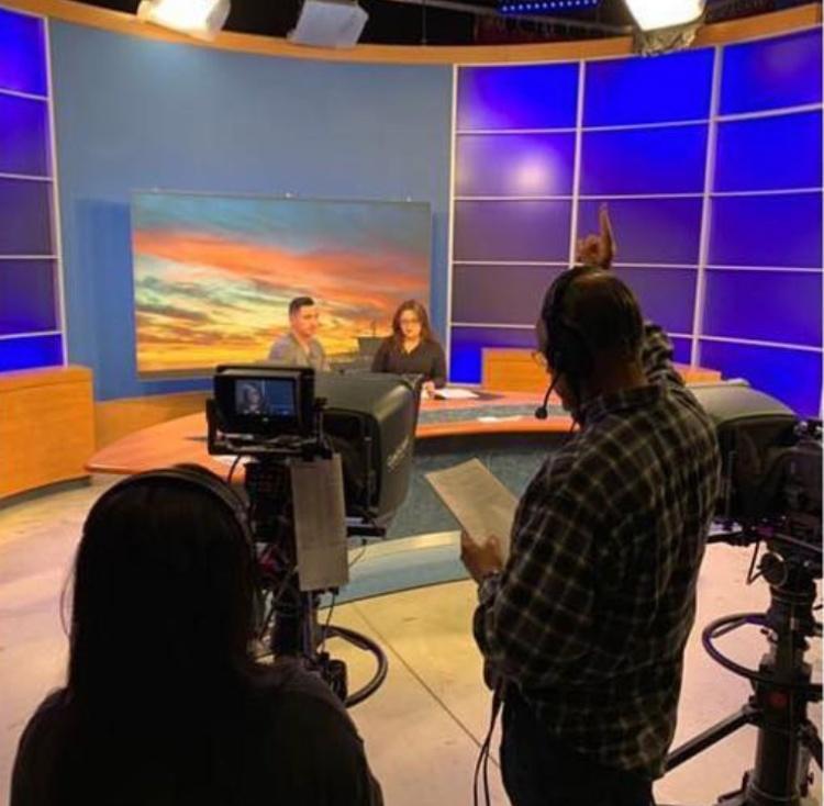 Camp News studio