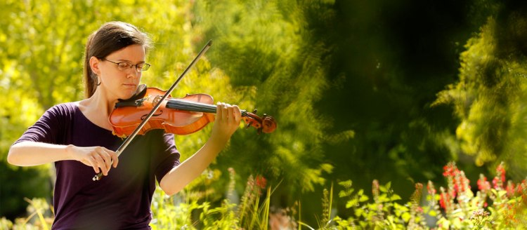Violin player - Photo by Cary Edmondson