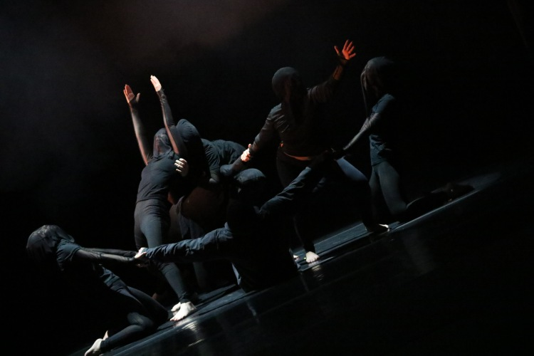 """""""From… last nights attempted restless sleep"""" by choreographer and Fresno State Professor Kenneth Balint"""