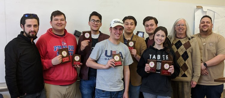 Barking Bulldogs Debaters and Coaches With Tournament Awards