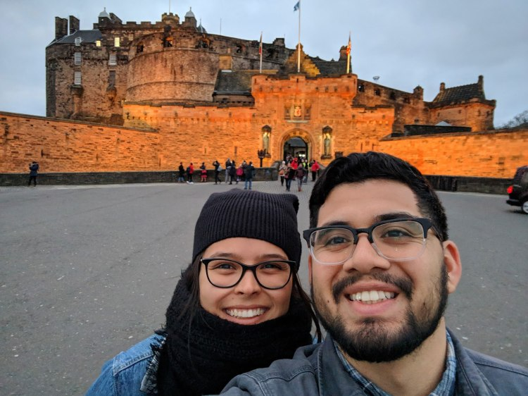 Edinburgh Castle - by Victoria Cisneros