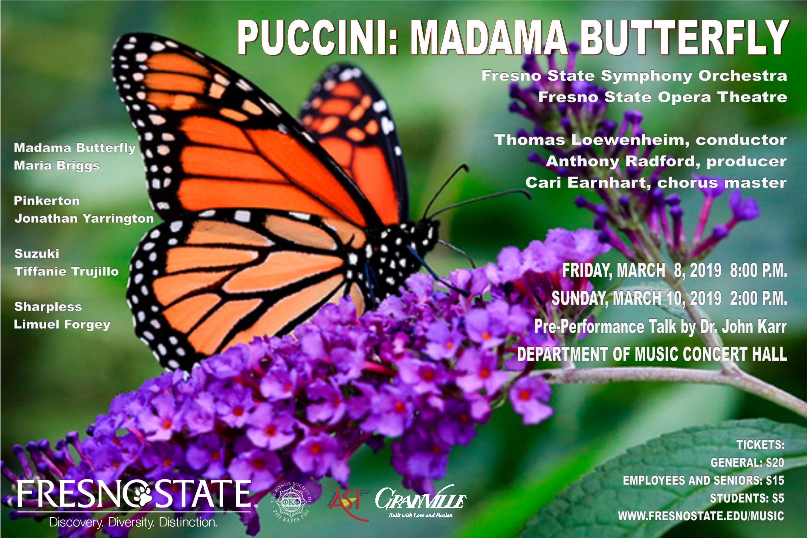Puccini: Madama Butterfly poster