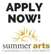 Summer Arts - Apply Now!