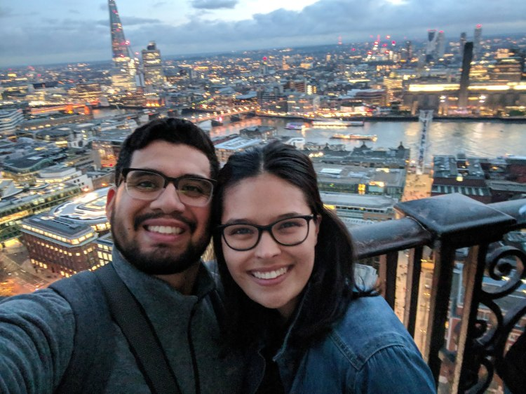 Top of St. Paul's Cathedral - by Victoria Cisneros