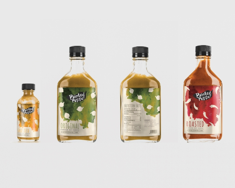 "Belinda Houngsombath; Packaging – ""Painted Pepper Brand Identity"""